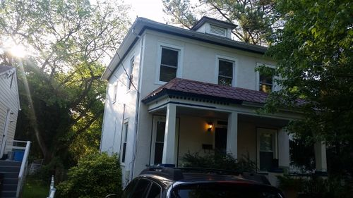 before exterior paint