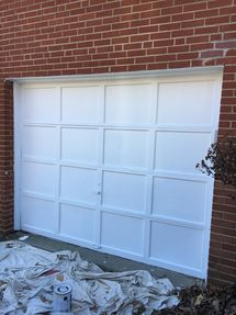 Before & After Garage Door Painting in Riverdale, MD (2)
