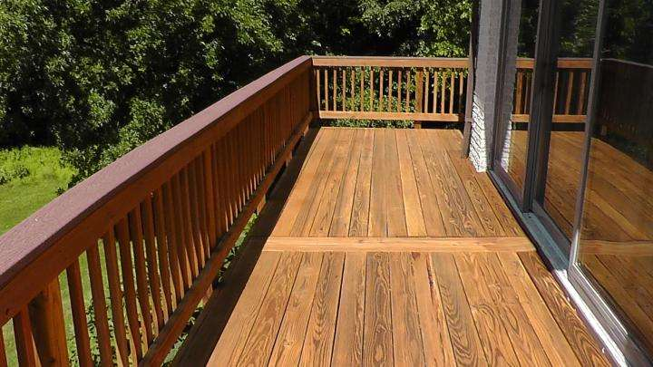 Deck Staining in Bowie, MD