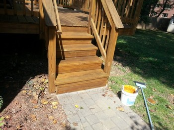 Deck Staining in Silver Spring, MD