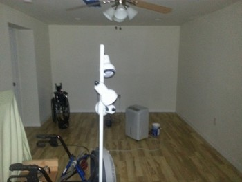 Before Interior House Painting by North College Park Painting LLC in College Park, MD