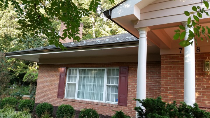 Pressure Washing and Exterior Trim & Shutter Painting in University Park, MD