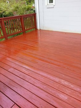 Deck Staining by North College Park Painting LLC